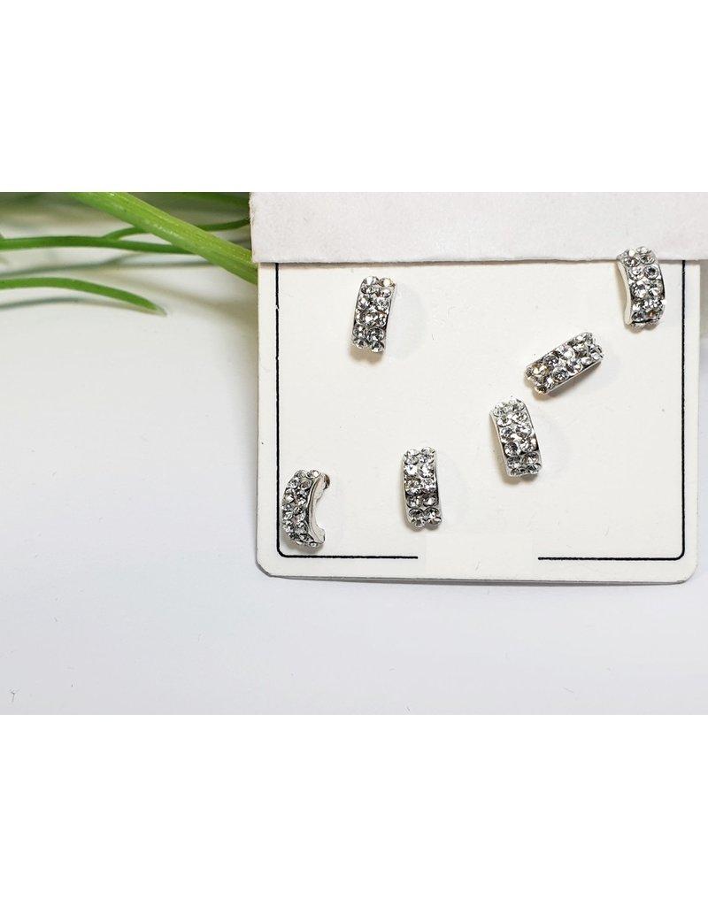 EMA0198 - Silver  Multi-Pack Earring