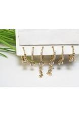 EMA0243 - Gold Hoop  Multi-Pack Earring
