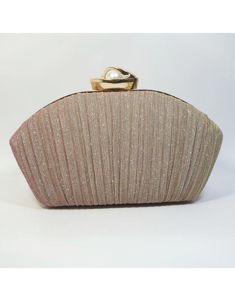 Cta0013 - Champagne,  Clutch Bag