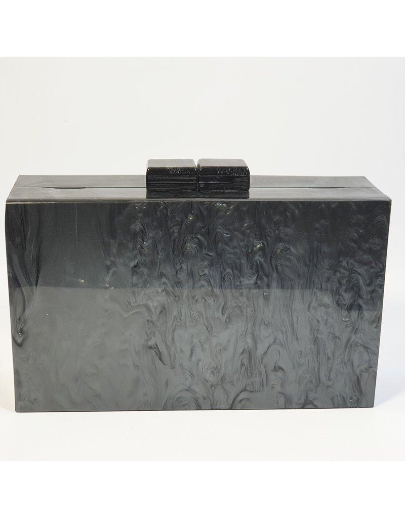 Cta0027 - Black,  Clutch Bag