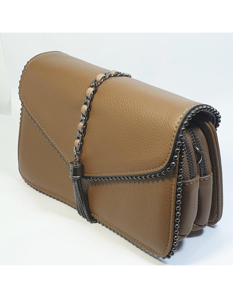 Cta0064 - Brown, Sling Handbag