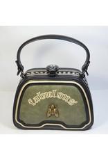Cta0067 - Green, Sling Handbag