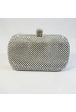 Cta0072 - Silver,  Clutch Bag