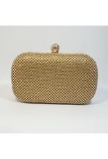 Cta0073 - Gold,  Clutch Bag
