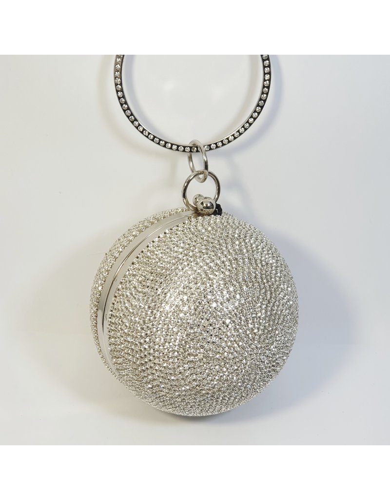 Cta0083 - Silver,  Clutch Bag