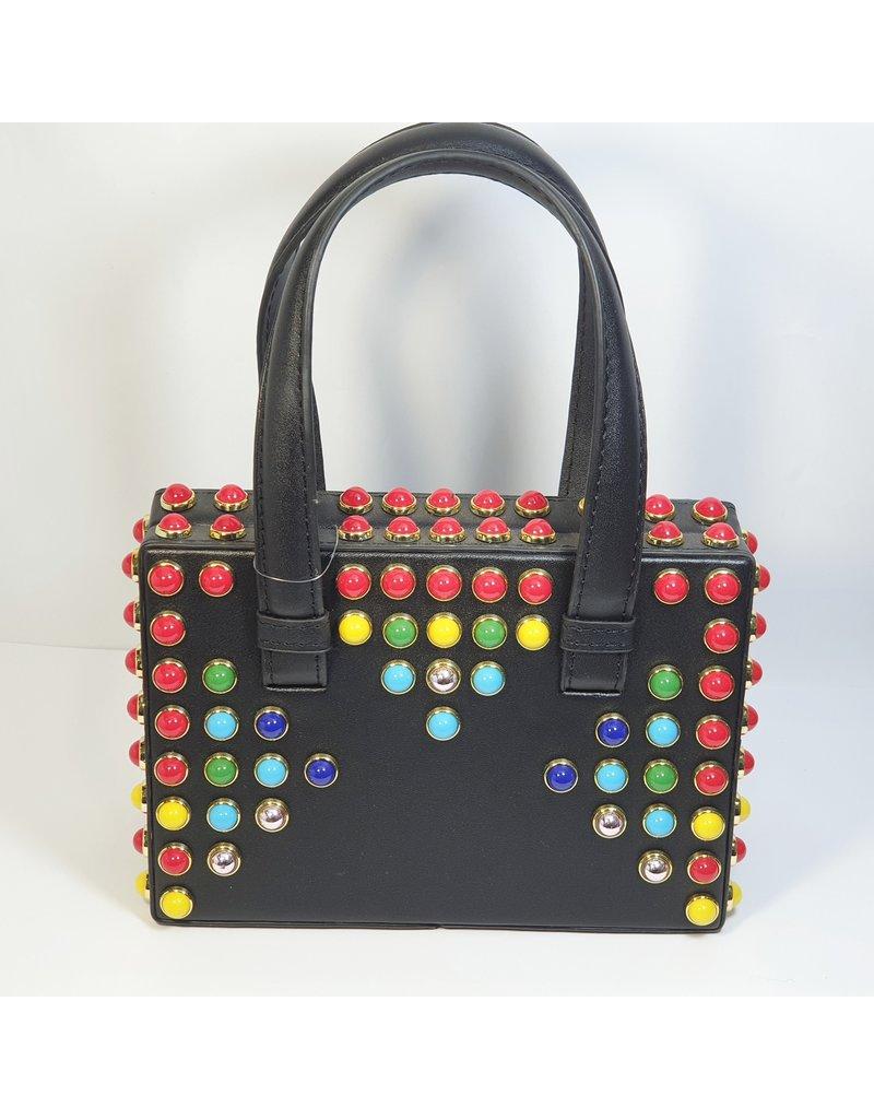 Cta0091 - Black, Multicolour, Mini Handbag