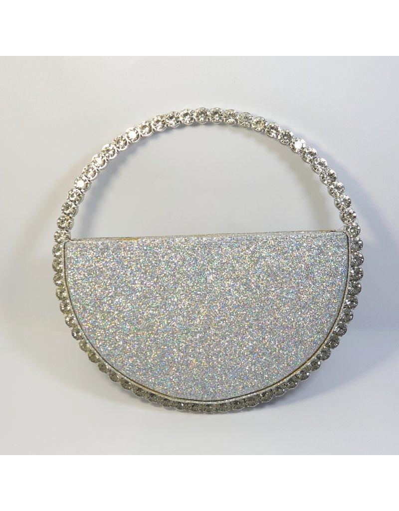 Cta0116 - Silver,  Clutch Bag