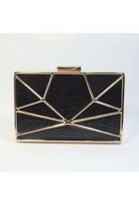 Cta0120 - Silver,  Clutch Bag