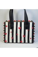 Cta0117 - Black, White, Multicolour, Mini Handbag