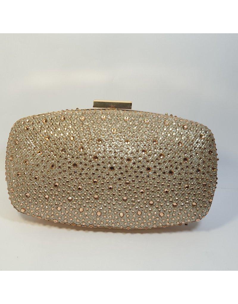 Cta0103 - Champagne,  Clutch Bag