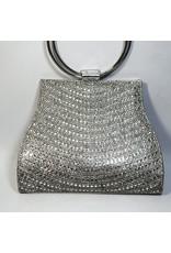 Cta0077 - Silver,  Clutch Bag
