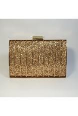 Cta0053 - Gold,  Clutch Bag