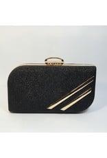 Cta0052 - Black,  Clutch Bag