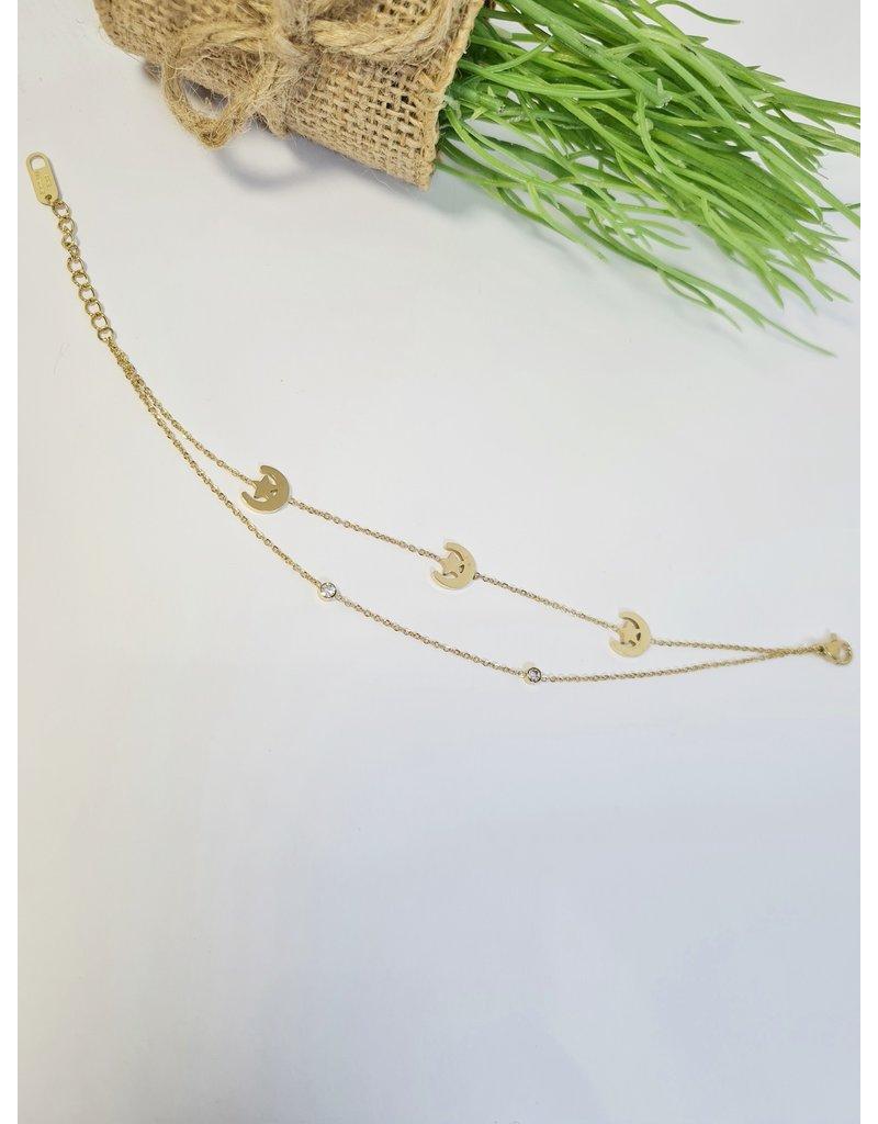 ANH0013 - Gold  Anklet