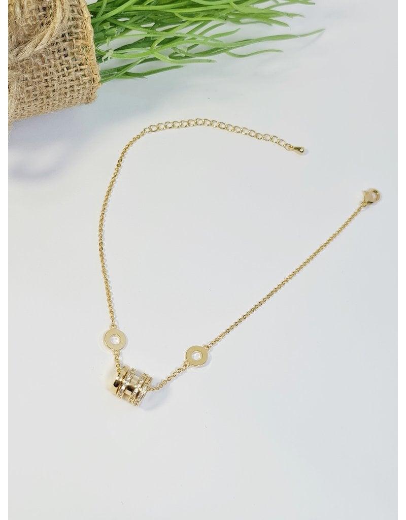 ANH0043 - Gold  Anklet