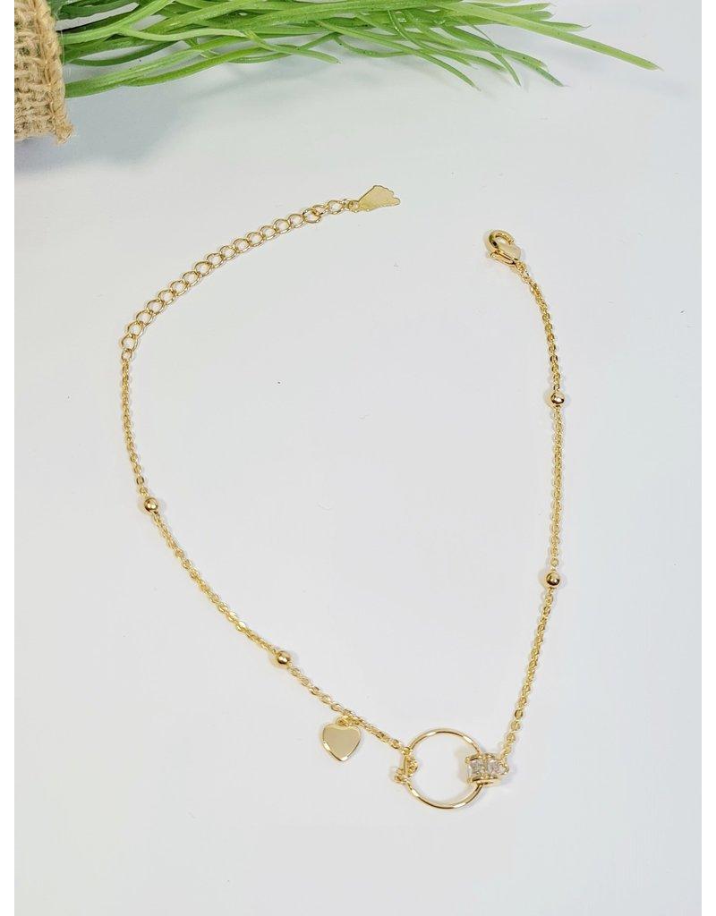 ANH0044 - Gold  Anklet