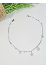 ANH0046 - Silver Anklet
