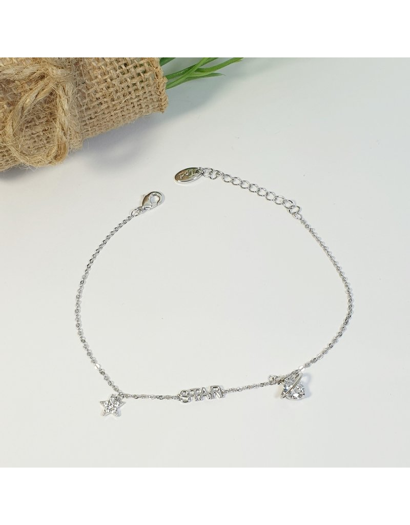 ANH0058 - Silver Anklet