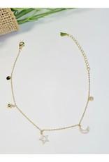 ANH0063 - Gold  Anklet
