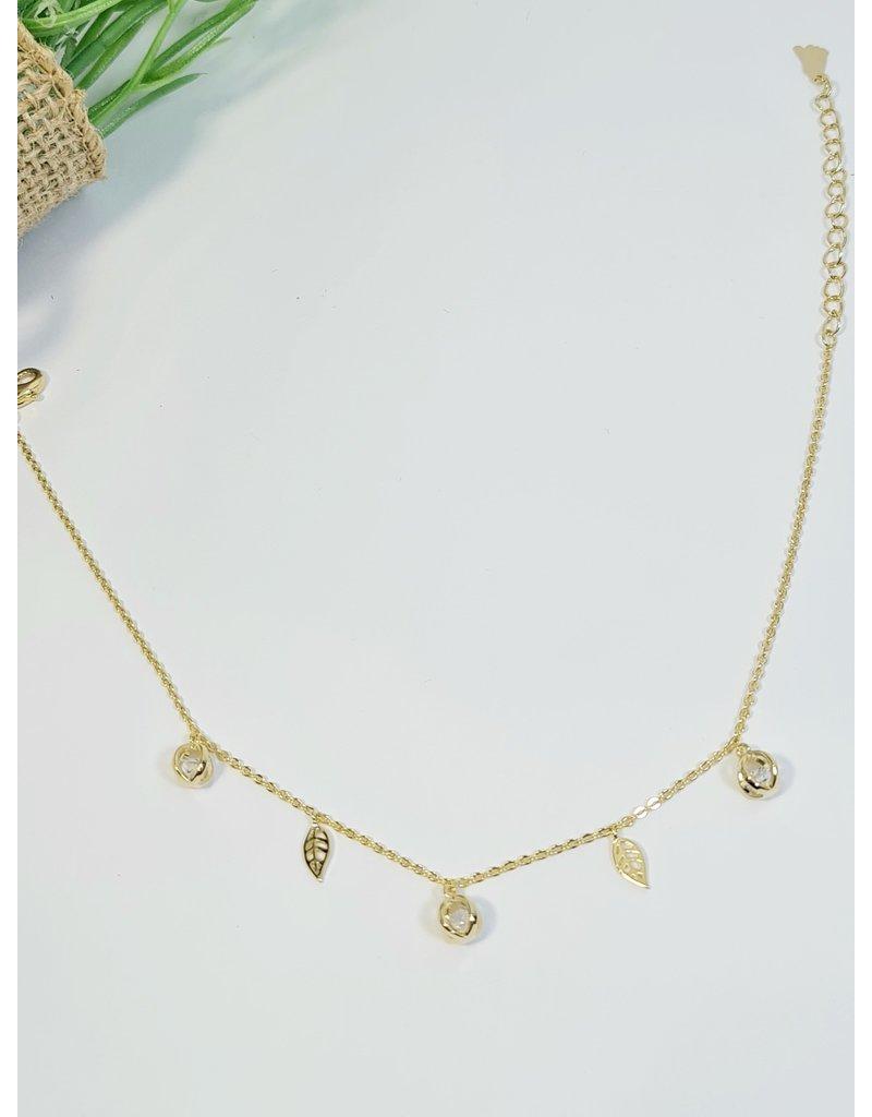 ANH0068 - Gold  Anklet