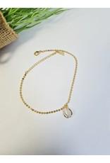 ANH0078 - Gold  Anklet
