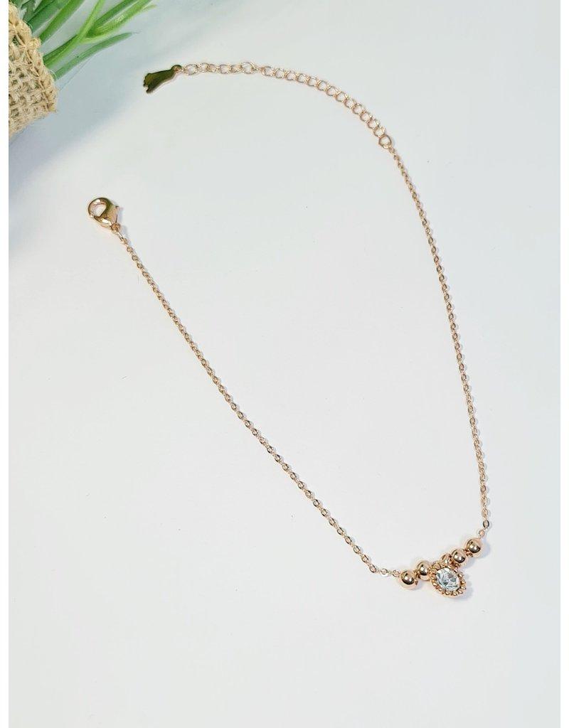 ANH0080 - Rose Gold Anklet