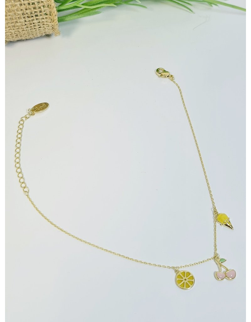 ANH0101 - Gold, Yellow Anklet
