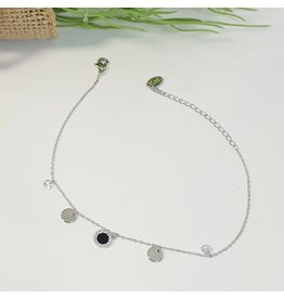 ANH0100 - Silver Anklet
