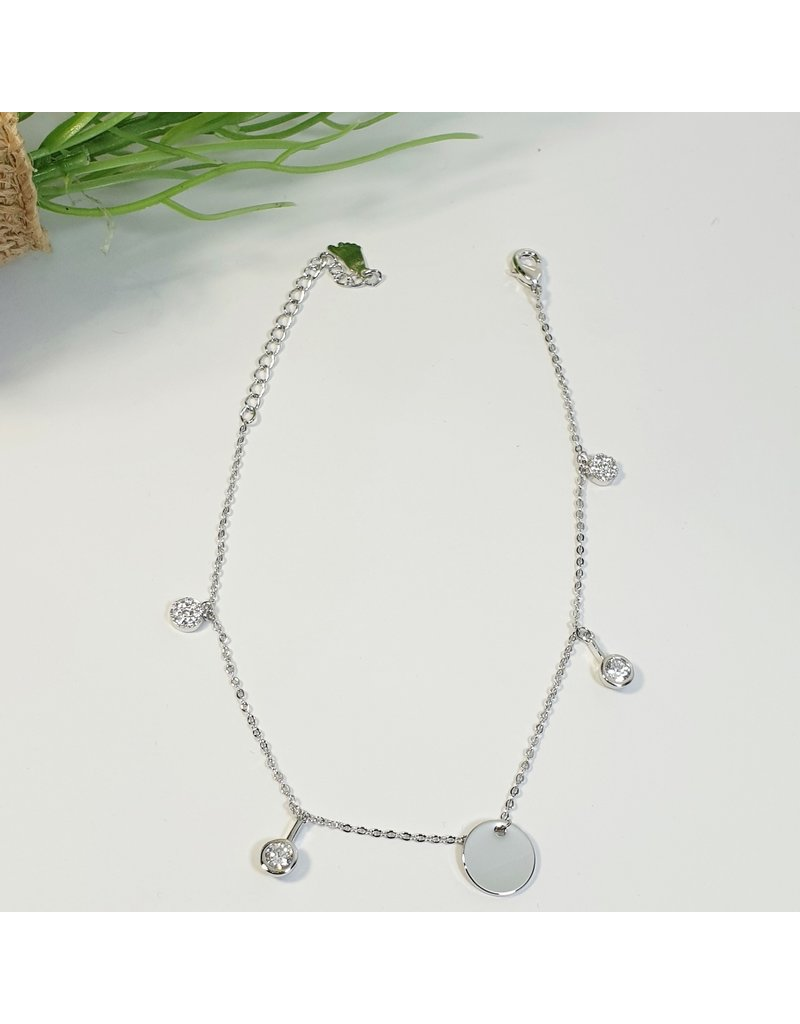 ANH0001 - Silver Anklet