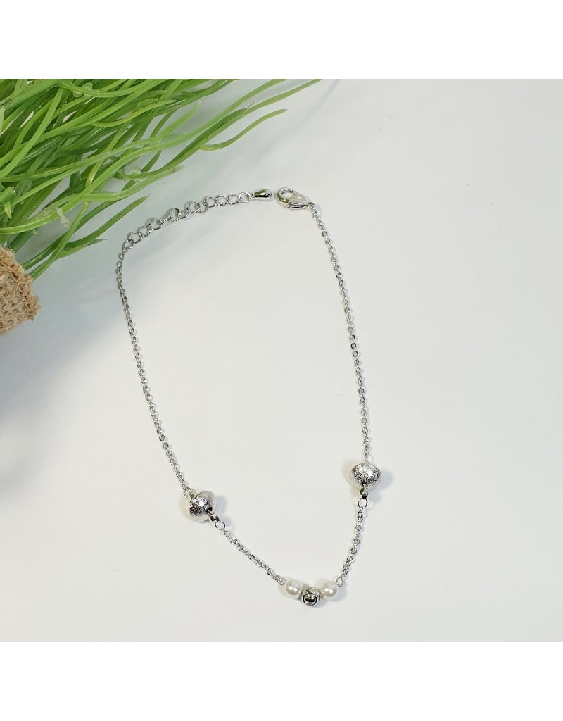 ANH0003 - Silver Anklet