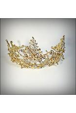 HPF0030 - Gold Vintage Tiara