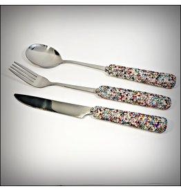 HRF0070 - Multicolour Cutlery 3 Piece Set