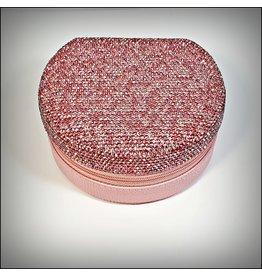 HRG0161 - Pink Round Jewellery Box