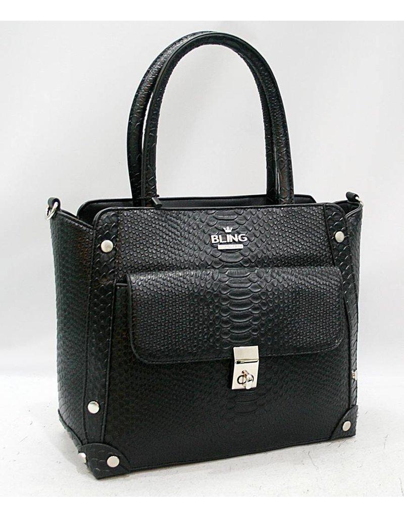 20260034 -Satchel Black Bag
