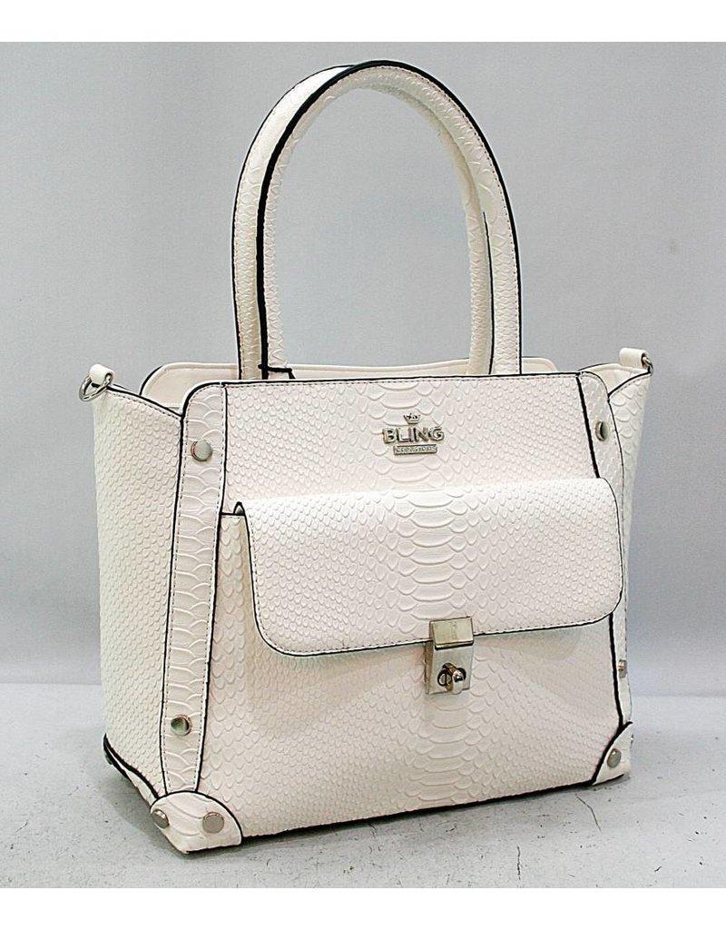 20260035 -Satchel White Bag
