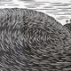 Kean Arts 15X21 SIETE, ORIGINAL WOODBLOCK #3/25, OUTER FRAME 20X26