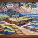 "Mark Brown ORIGINAL OIL PAINTING: 10""X20"" ""KAHALA BEACH"""