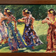 "Mark Brown ORIGINAL OIL PAINTING: 10""X20"" ""HULA"""