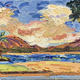 "Mark Brown ORIGINAL OIL PAINTING: 12""X36"" ""KAHALA BEACH PARK"""