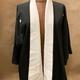Elizabeth Kent elegant black kimono jacket