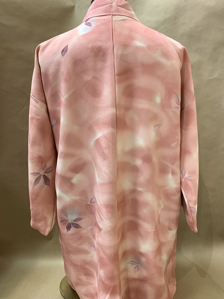 Elizabeth Kent pink leaves jacket