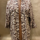 Elizabeth Kent brown and cream kimono jacket