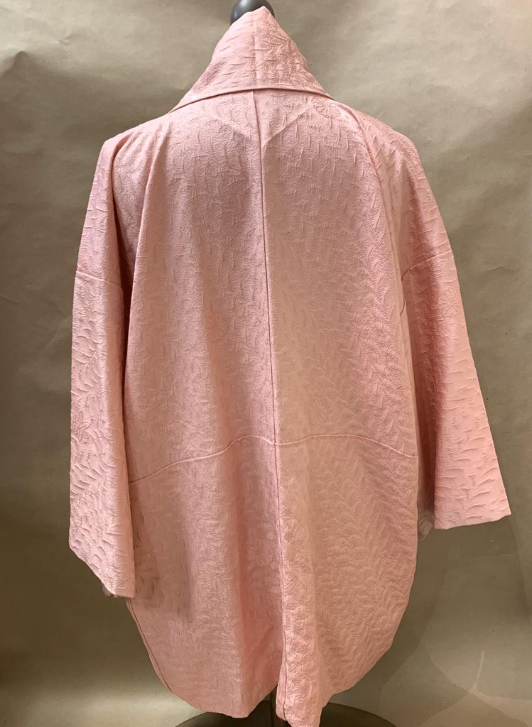 Elizabeth Kent solid pink jacket