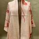 Elizabeth Kent shibori and gold embroidery jacket