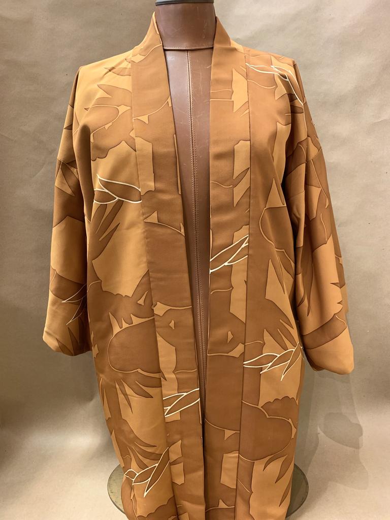 Elizabeth Kent beautiful bamboo  jacket
