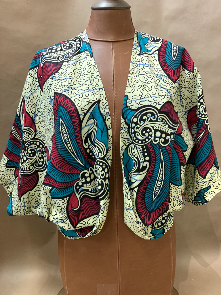 Elizabeth Kent African bolero  jacket