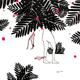 "Kris Goto ORIGINAL: ""SOLO DIVE"",10"" X 10"" Pen and Acrylic on Gessoed Wood Canvas"