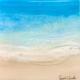 "Sarah Caudle ORIGINAL RESIN PAINTING - FRESH AIR 2, 8""X8"""