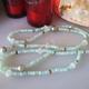 "MiNei Designs 34"" Peruvian Opal and 4 Tahitian Pearls"