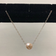 Rose Wong NECKLACE-STERLING SILVER FLOATING FRESH WATER PEARL